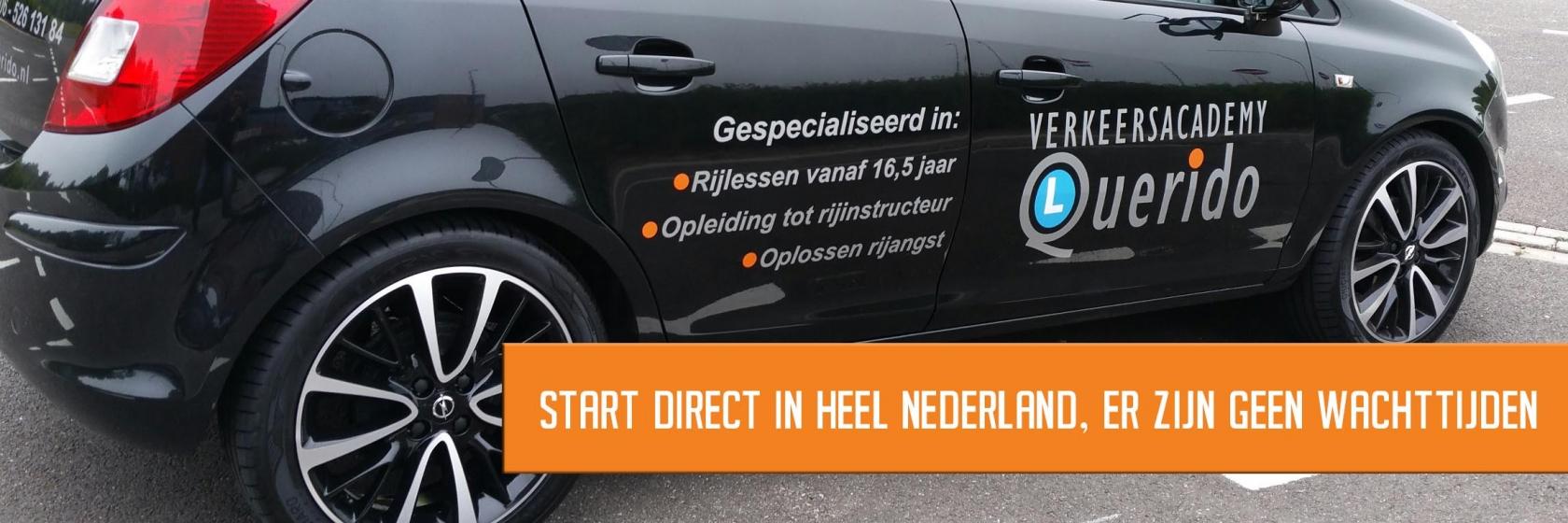 Lessen in heel nederland